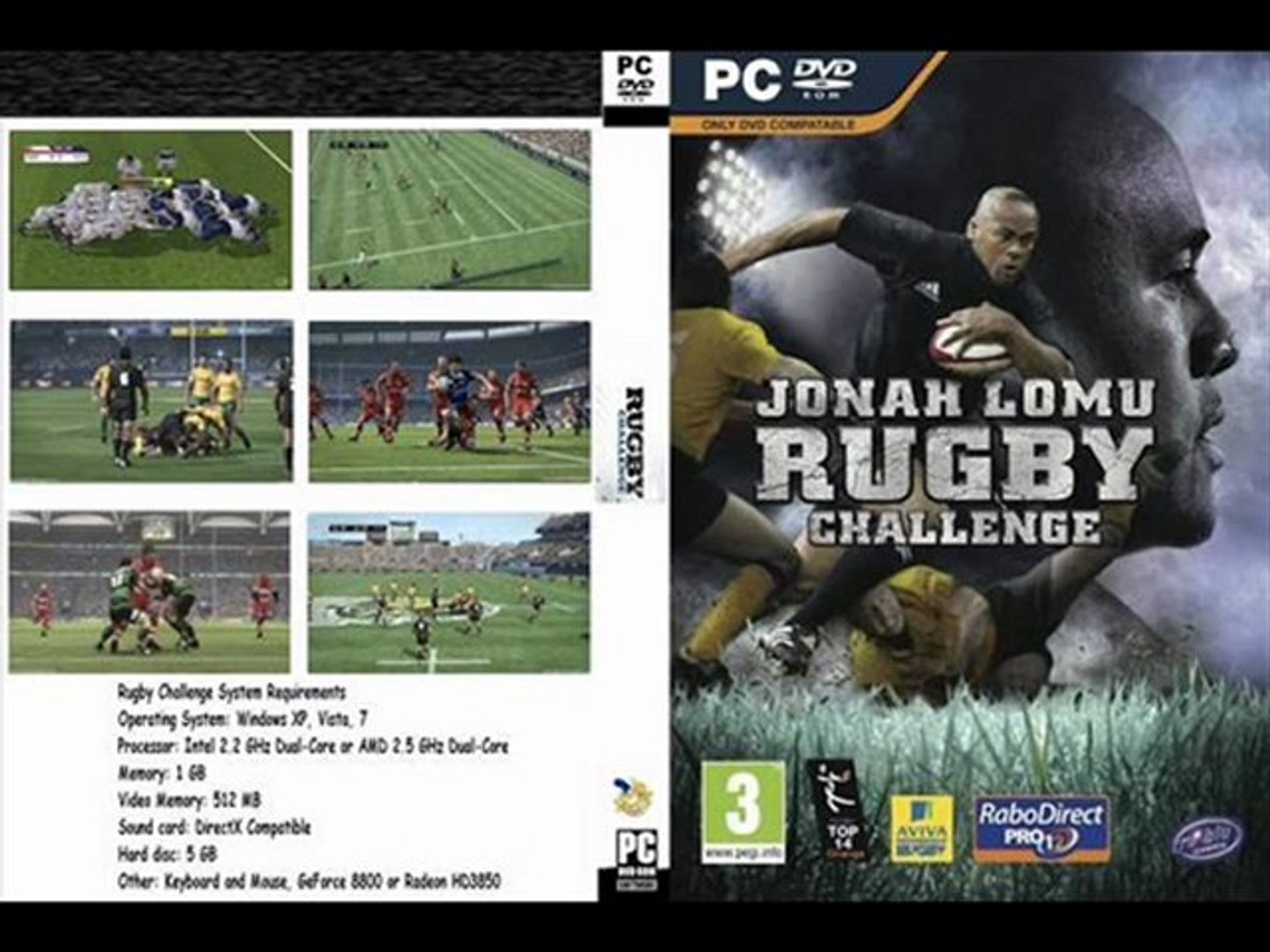 PATCH JONAH PS3 RUGBY TÉLÉCHARGER LOMU CHALLENGE