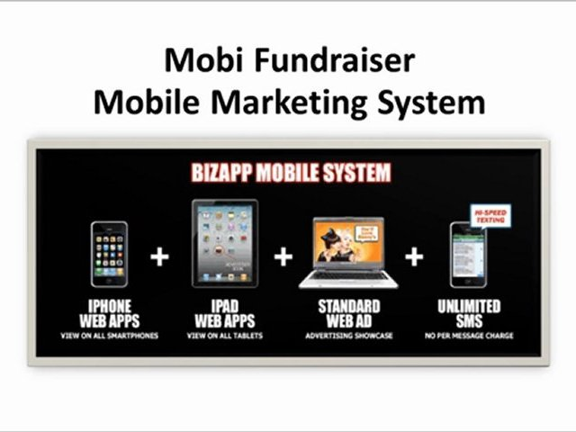 Mobile Marketing Fundraising System