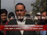 Lawyers in PoK Protest Against Attacks on Judiciary