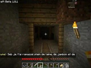 minecraft [9] Visite d'une immense mine