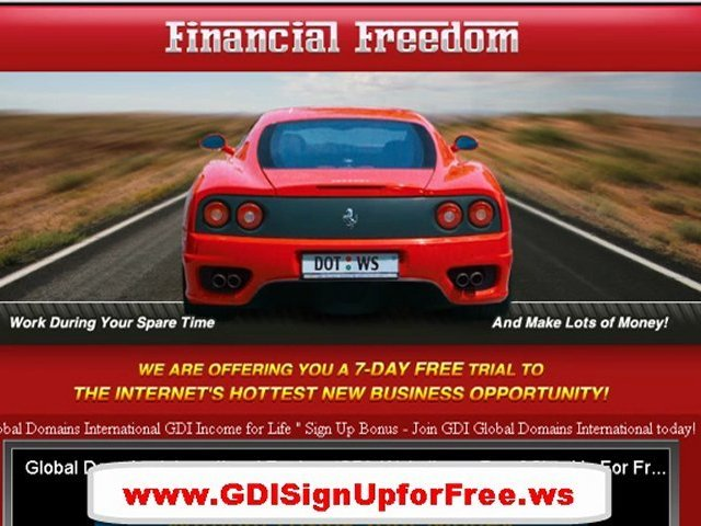 FREE Online Money Making Opportunities Work from home business GDI Review Proof
