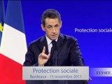 Discours de N. Sarkozy sur la lutte contre les fraudes sociales