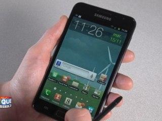 Samsung Galaxy Note - Prise en main