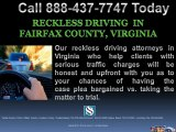 Reckless Driving Fairfax Virginia Lawyer