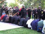 USA : Etudiants pacifistes gazés au poivre