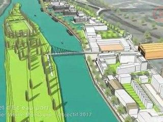 Le Projet d'Ec'eau port de Creil - Objectif 2017