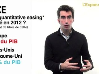 La BCE sera obligée de copier la Fed en 2012