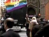 Scuffles, arrests as Occupy protesters march on NYSE