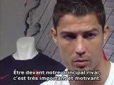 "Cristiano Ronaldo : ""Je ne pense pas au Barça"""