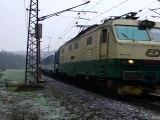 SVP 74-018 a lokomotiva 150 222-8 - Brandýs nad Orlicí, 17.11.2011 HD