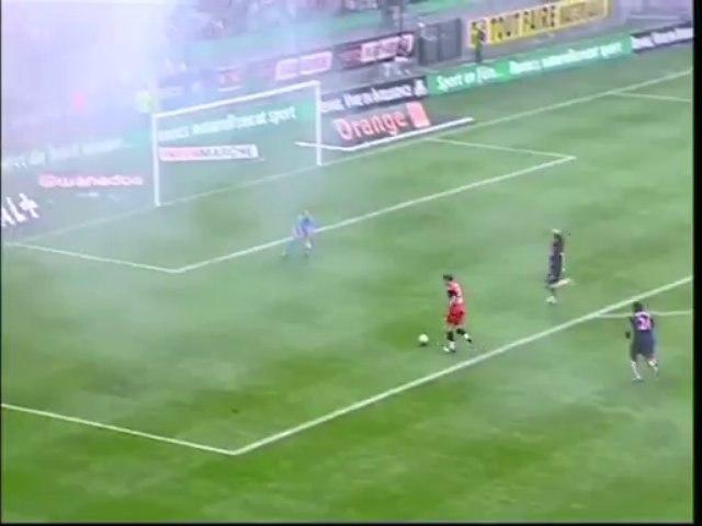 07/08/04 : Alexander Frei (23') : Rennes - Paris SG (2-1)
