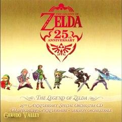 Les chansons de  Zelda 25th Anniversary de