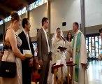 Mariage MAgali et Alexandre: échange des consentements