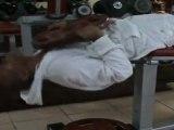 Abdos (Tête-en-Bas)► 13 x 25Kg ◄ Entrainement Musculation Yannis Malahël