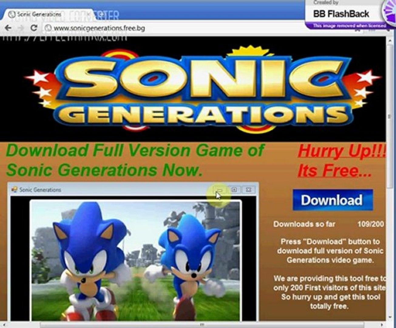 Sonic Generations Key Generator Video Dailymotion