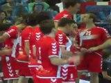 Entrée Joueurs : Chambéry-Zagreb 20/11/2011 EHF Champions League 5ème journée