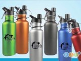 Custom Promotional Metal Water Bottles Printed w/Logo