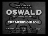 "Oswald le Lapin Chanceux - ""The merry old soul"" (1933)"