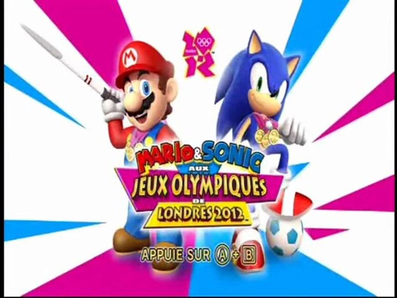 Découverte Mario Sonic Aux Jeux Olympiques De Londres 2012 Wii