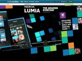 Habillage interactif Nokia Lumia