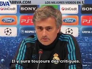 Mourinho répond à ses détracteurs