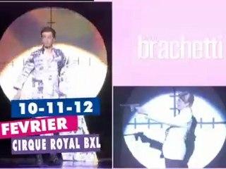 Arturo Brachetti au Cirque Royal de Bruxelles (les 10, 11 et 12 février 2012)