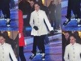 Pippa Middleton sur des patins à glace