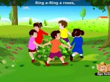 Ringa Ringa Roses - Nursery Rhyme with Lyrics