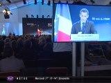 50 ans du CNES : Nicolas Sarkozy  à Toulouse
