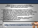 The Bodybuilding Beginners Guide on Cheap Bodybuilding Supplements