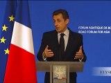 Discours de N. Sarkozy à l'occasion du Forum asiatique de Boao