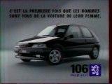 Publicité 106 Peugeot 1995