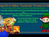 Best Christmas Gifts | Unique Gift for Children - Creative Kids Gift Basket for Kids | Best of Christmas Gifts 2012