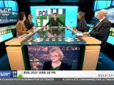 Meute de journalistes UMP-PS aux basques de EVA JOLY -Ils ne supportent d'opposition qu'entre Sarkozy et Hollande