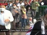 Egypt protesters keep pressure on military... - no comment