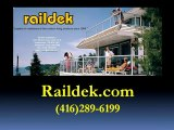 Duradek   Decks   Aluminum Railings   Glass Railing   Porch   Patio   Toronto   GTA  