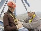 Le FSE accompagne une formation qualifiante de cordiste en Rhône-Alpes