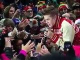 SNTV - Justin Bieber Rocks Rockefeller Plaza with Usher