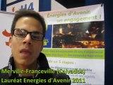 Merville-Franceville (Calvados), Lauréat du label Energies d'Avenir 2011