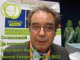 Delta Sèvre Argent (Deux-Sèvres), Lauréat du label Energies d'Avenir 2011