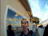 Day 20, American/Around The World Tour 2011 -Skydiving/Parachutisme à Las Vegas