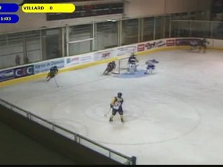 Chamonix contre Villard de Lans, ligue magnus