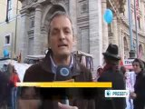 Italians hold demonstration against water privatization