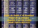 48. Cours du Sahih d' Al Boukhari Début de la création chapitre 3 sur les étoiles