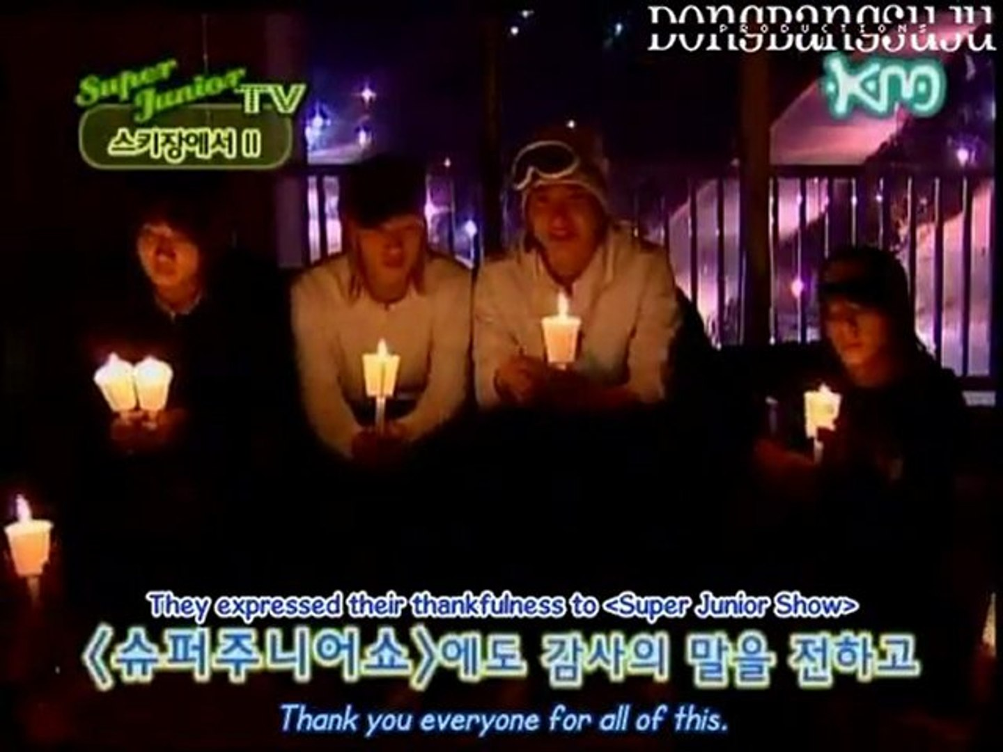 [Eng Sub] Super Junior Show Ep  8 -- Shindong's Diary