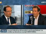 Hollande favorable au droit de vote des étrangers aux élections locales