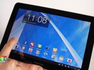 Samsung Galaxy Tab 10.1  - Prise en main