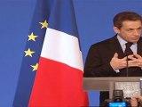 Discours de N. Sarkozy devant les Meilleurs ouvriers de France