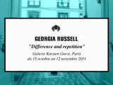 """Georgia Russell, """"Difference & Repetition"""" à la Galerie Karsten Greve."""