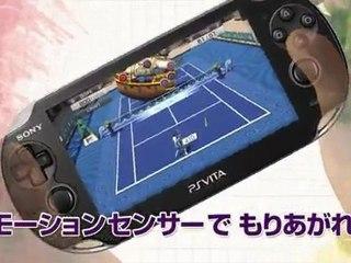 Spot TV Japonais 2 de Virtua Tennis 4 World Tour Edition